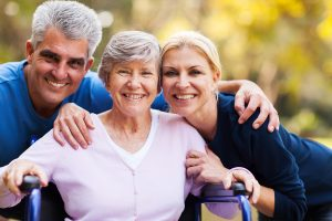 Giving full care to senior people